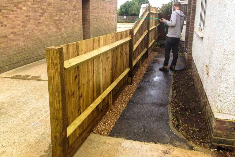 seahaven fencing close board fence